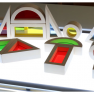 regenboogblokken lichttafel