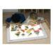 regenboogblokken op lichttafel
