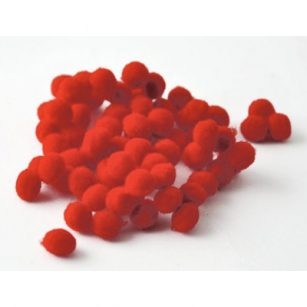 pompom rood