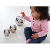 spiegelballen ontdekkend leren