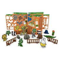 bouwplaat-dierentuin